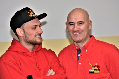 Bodenmeister Milo und Rajko Kondic